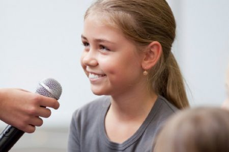 How to encourage your shy kid to speak up in public