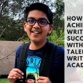 How Krishiv Achieved Writing Success with the Talentnook Writing Academy